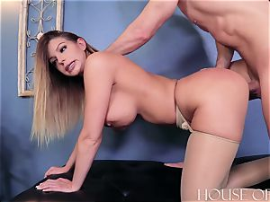 BROOKLYN chase – hard LESSONS – breezy lecturer BLACKMAILED