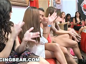 DANCINGBEAR - thick knob male Strippers Crashing the club
