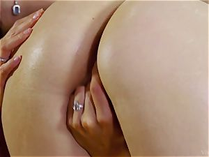 Alexa Tomas and Zoe dame fingering Their fuck holes