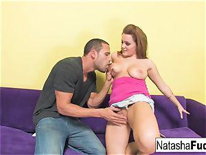 Natasha Gets to rail Carlo's ample beef whistle