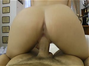 Rocco Siffredi sausage ramming a pretty dark haired