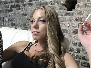 Shawna Lenee does point of view oral pleasure