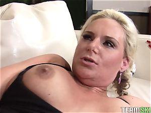 trampy Phoenix Marie gets fucked up her moist vagina
