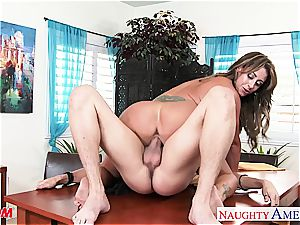 inked mother Eva Notty gets penetrated