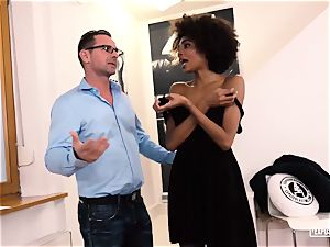 revealed audition - Luna Corazon performing at casting