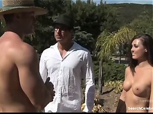 Samantha Ryan - Monster of the nudist Colony