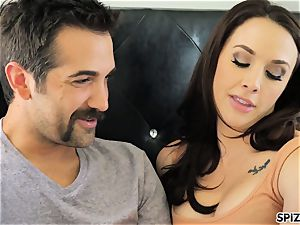 Spizoo - observe Chanel Preston fellating and porking