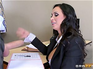sizzling lawyer Nikki Benz getting boinked by a fat fuck-stick