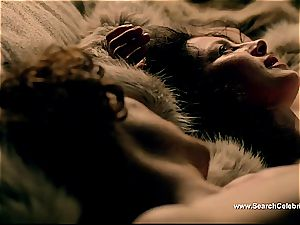 Caitriona Balfe in super hot romp sequence from Outlander