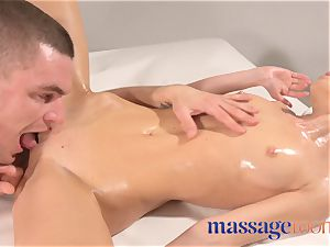 massage rooms yam-sized orgasms for insatiable Russian nympho