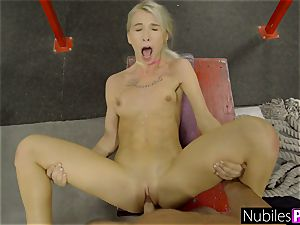 taut Kenzie Reeves Gets nubile slit spread S1:E3