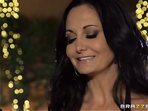 Ava Addams gets a cramming from the pool stud