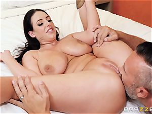 Angela white beaten in her lovely little bootie fuck-hole